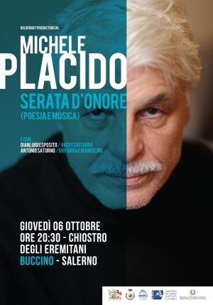 """Michele Placido in """"Serata d'onore. A lezione da Placido… di cinema, teatro e poesia"""""""
