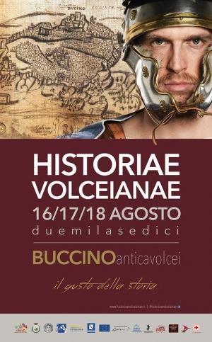 """RITORNANO A VOLCEI LE HISTORIAE VOLCEIANAE """"Il gusto della storia""""- Buccino (Sa)"""