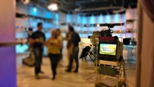 """La Pro Loco negli studi di Canale 9 durante il programma """"Studio Mattina""""."""